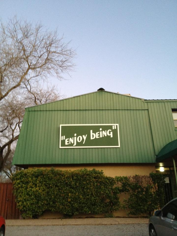 ENJOY BEING