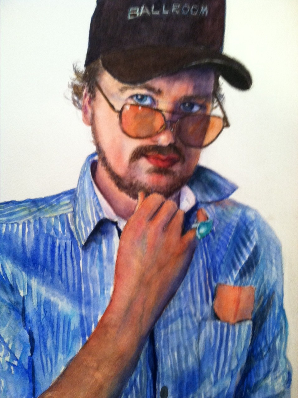 ross painting by connie lipsey
