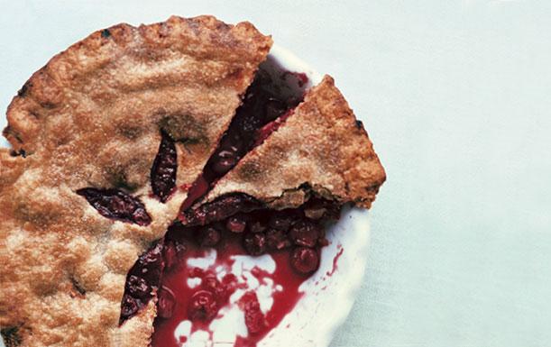 cherry pie courtesy of gourmet
