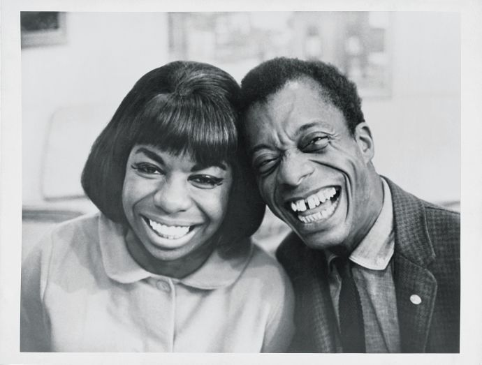 nina simone and james baldwin