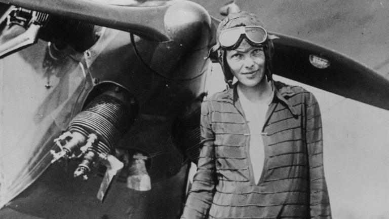 amelia earhart, courtesy of biography