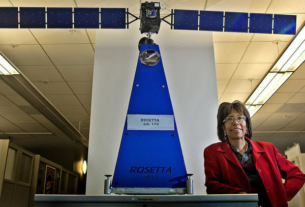 Claudia Alexander had a pioneering role in the Galileo mission and was NASA's scientist on the international Rosetta project. Gina Ferazzi / Los Angeles Times