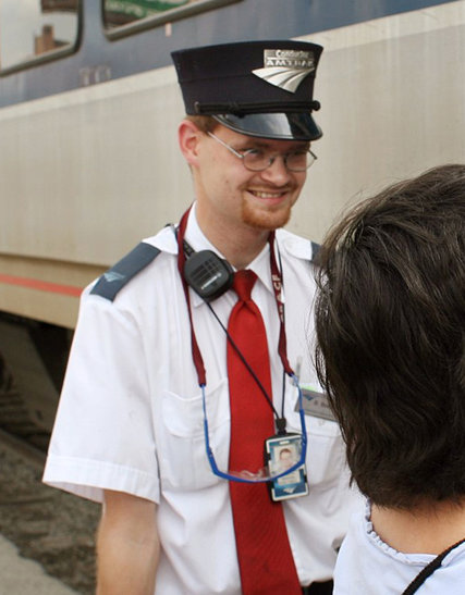 Brandon Bostian, Amtrak 188's engineer, in 2007. Credit Photograph by Huy Richard Mach/St. Louis Post-Dispatch, via Associated Press
