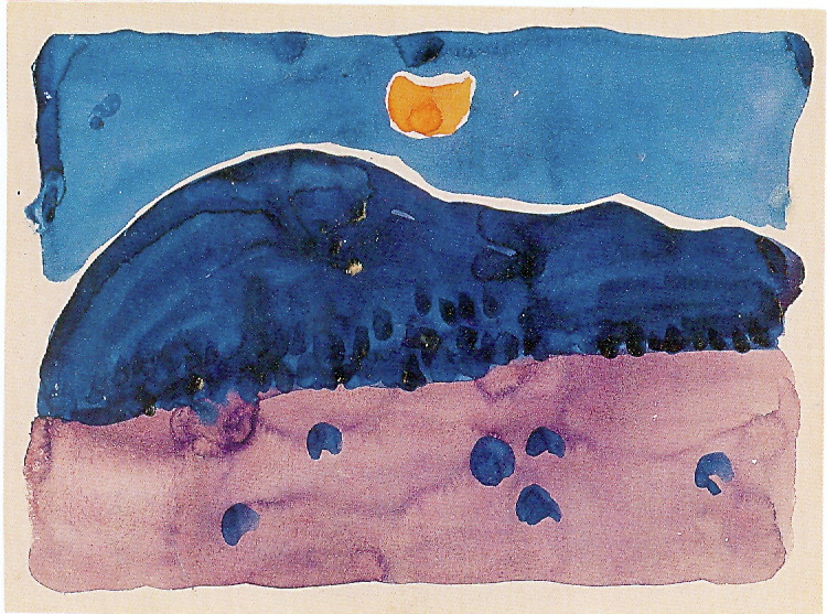 Evening      Georgia O'Keeffe       1916