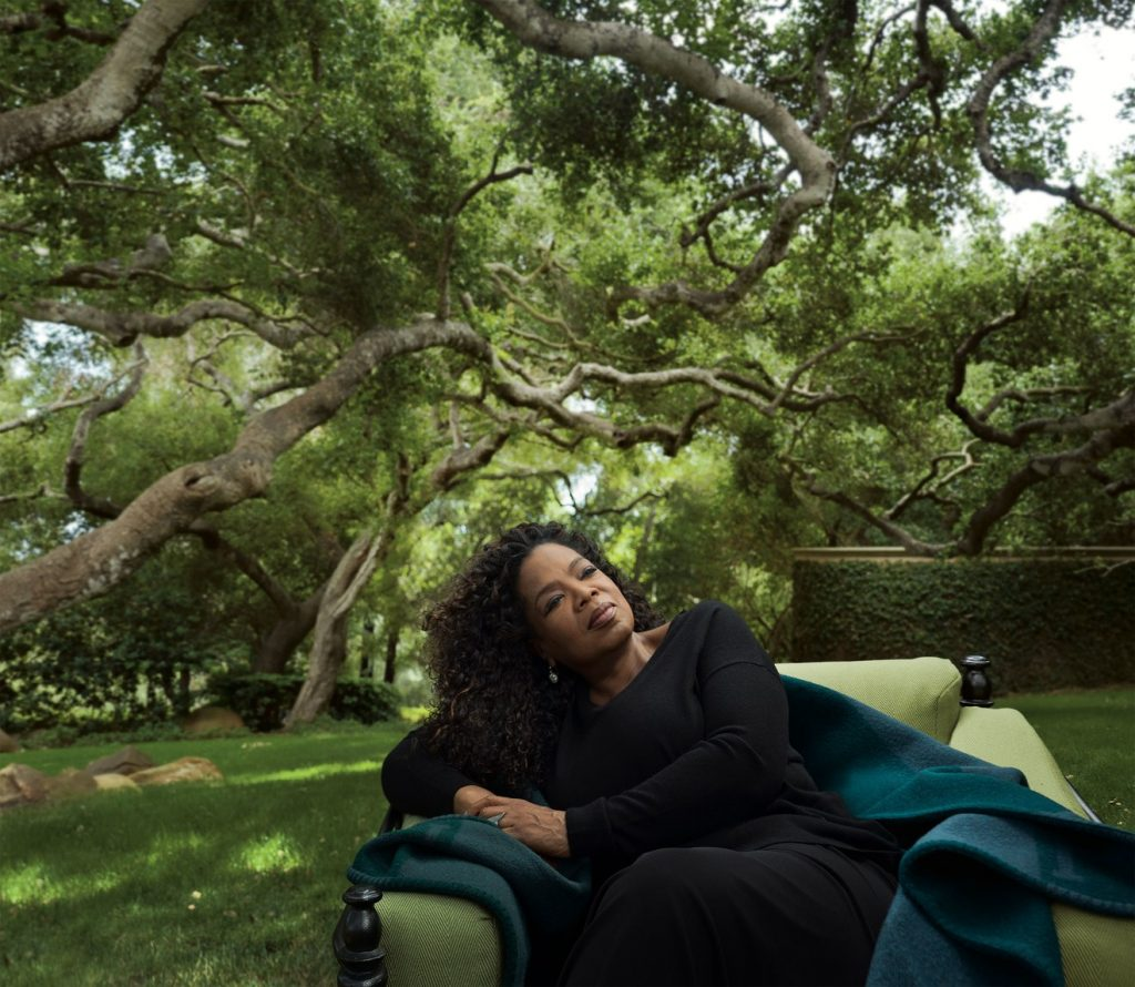 OPRAH THE QUEEN WINFREY. PHOTO BY Annie Leibovitz