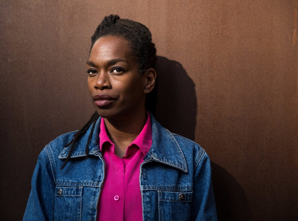 Michelle Jones, a Ph.D. candidate at N.Y.U., was released from prison in August after serving 20 years. Credit Damon Winter/The New York Times