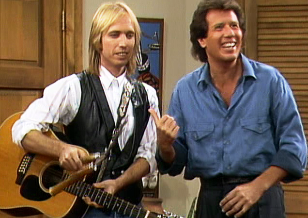 tom petty and garry shandling / via eddie on film