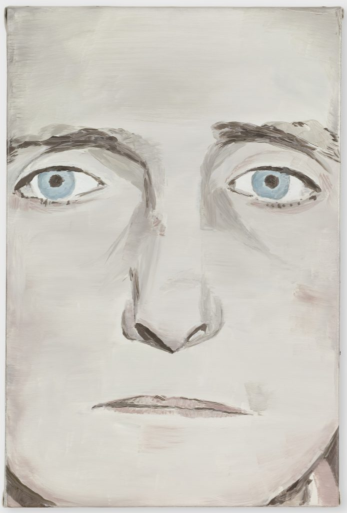 Luc Tuymans, Der Diagnostische Blick IV (The Diagnostic View IV), 1992