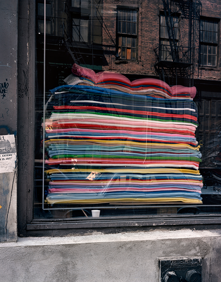 Wayne Sorce: Blankets, New York 1986