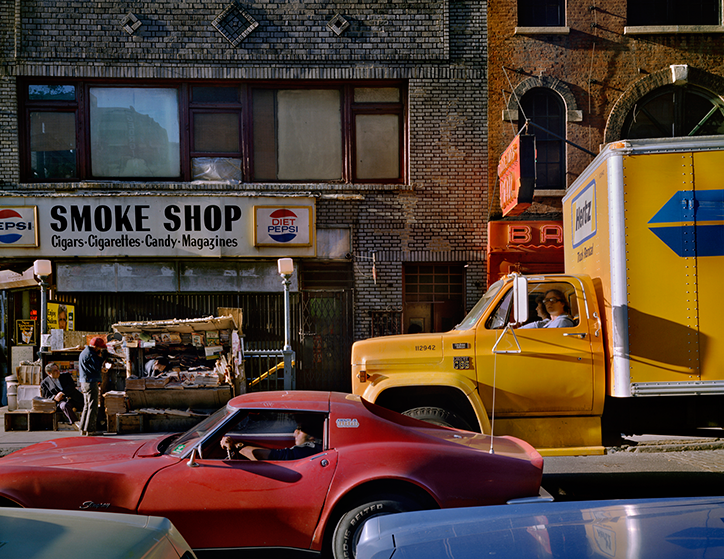 Wayne Sorce: Varick Street, New York 1984