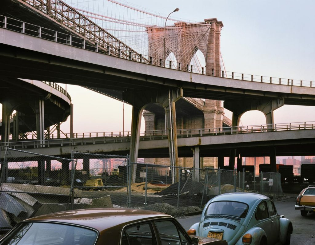 Wayne Sorce, Brooklyn Bridge, 1985