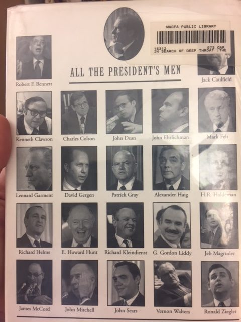 all the president's men book jacket