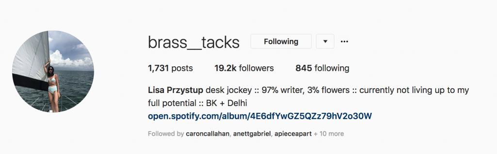 lisa Przystup instagram
