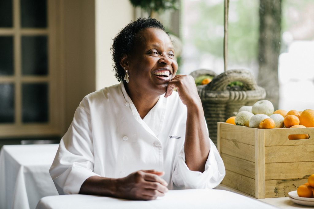 Dolester Miles, who was named Outstanding Pastry Chef by the James Beard Foundation in May, has worked for more than 30 years at the Highlands Bar & Grill in Birmingham, Ala.CreditBob Miller for The New York Times
