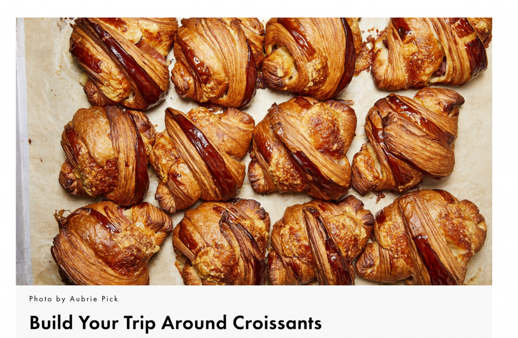 eat croissants for life