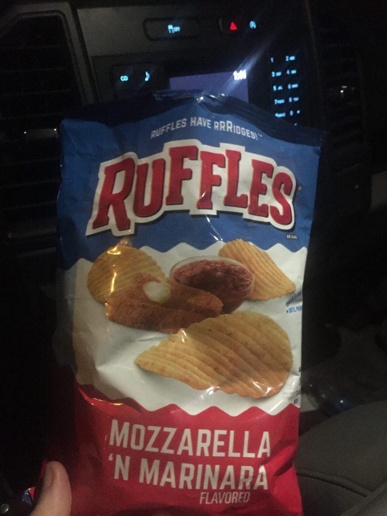 mozzarella and marinara chips