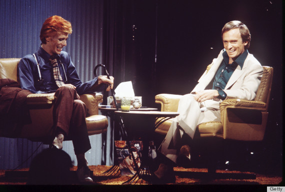 david bowie and dick cavett on the dick cavett show, 1974