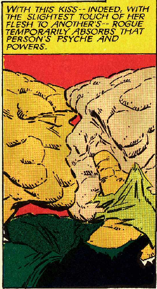 wheelr: uncannypanels: Fantastic Four vs. the X-Men #2 by Chris Claremont, Jon Bogdanove, Terry Austin, and Glynis Oliver