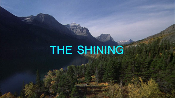 THE SHINING title sequence. Via Art of the Title.