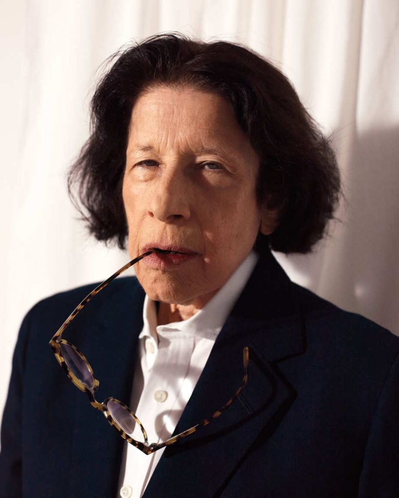 Fran Lebowitz. Photo: Catherine Servel.