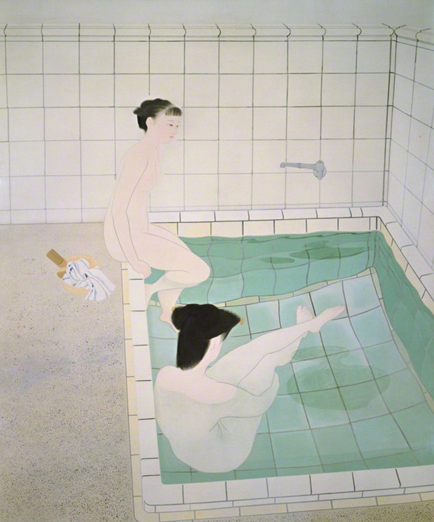 Yuki Ogura, Bathing Women, 1938