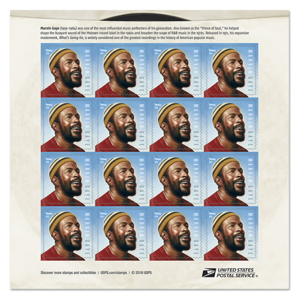 marvin gaye stamps