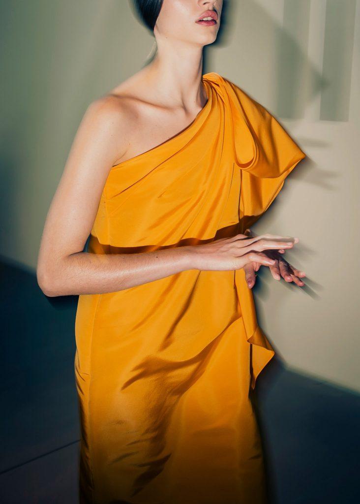 Carolina Herrera fall 2020.Credit...Dina Litovsk. Courtesy of T Magazine.
