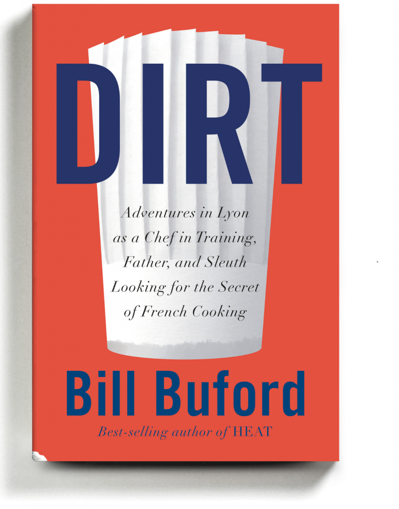 Cover of Bill Buford's memoir, DIRT