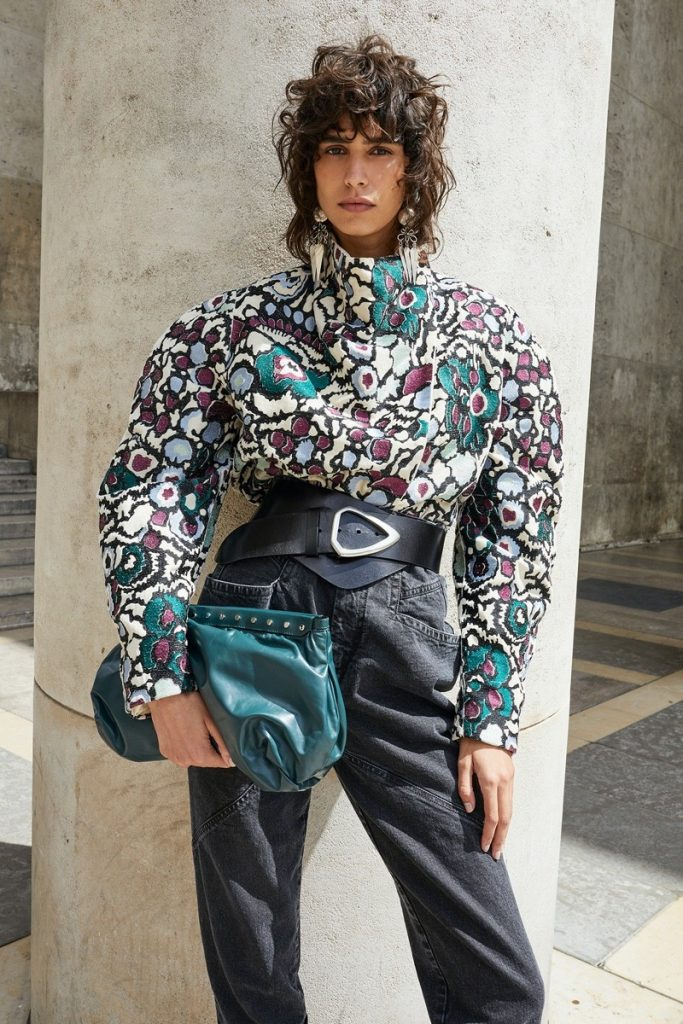 isabel marant fall 2020 campaign with mica argañaraz photographed by juergen teller