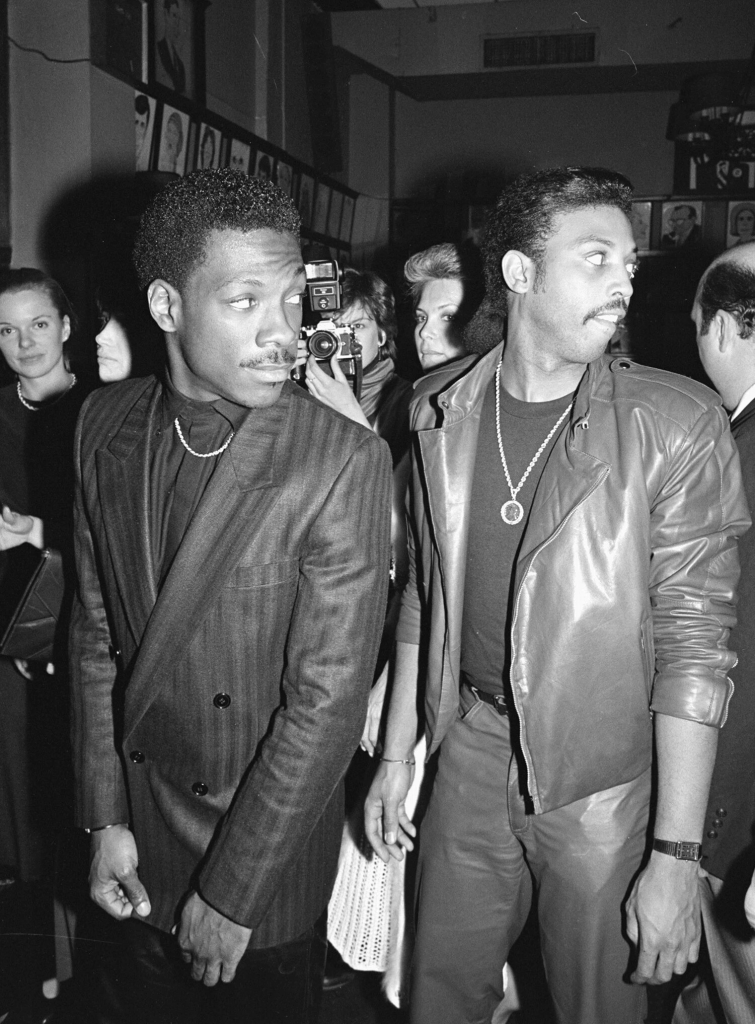 Eddie Murphy and Arsenio Hall, no date. The LIFE Picture Collection, via Getty Images