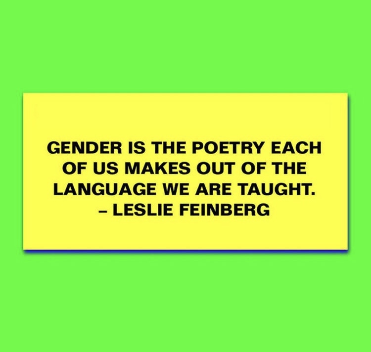 quote from leslie feinberg