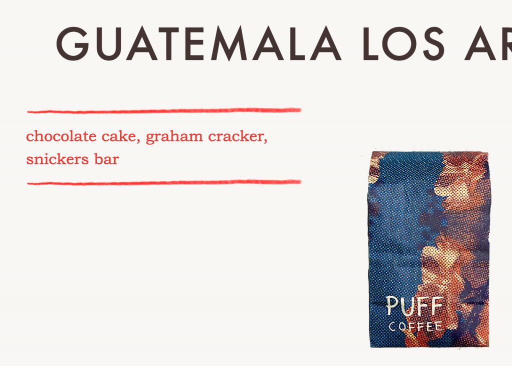 puff coffee guatemala coffee flavor profile