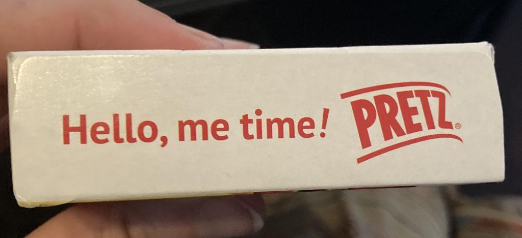 top of pizza pretz box