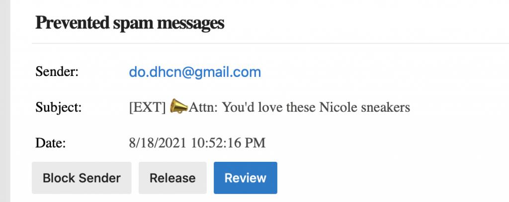 Nicole sneakers?!