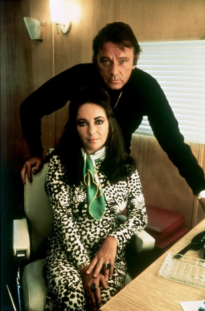 Richard Burton and Elizabeth Taylor. I Image: Getty Images.